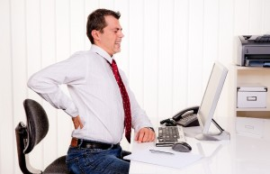 Long hours at work back pain -massage