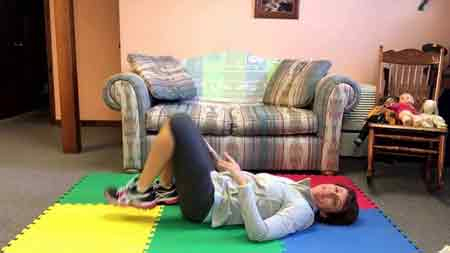 Sciatic nerve pain and Sciatica treatment exercise at home